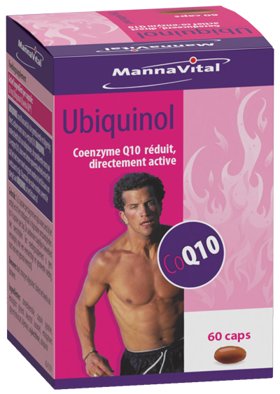 Ubiquinol co-enzyme Q10 50 mg