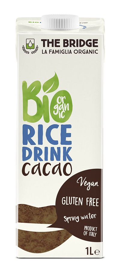 Rice drink + cacao