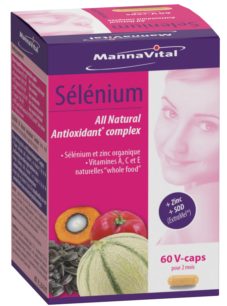 Selenium All Natural Antioxidant complex + Zinc & SOD