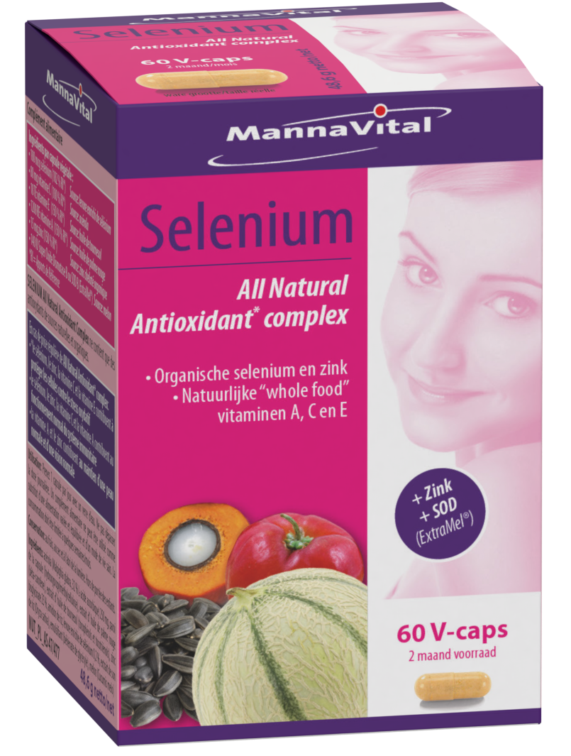 Selenium All Natural Antioxidant complex + zink & SOD