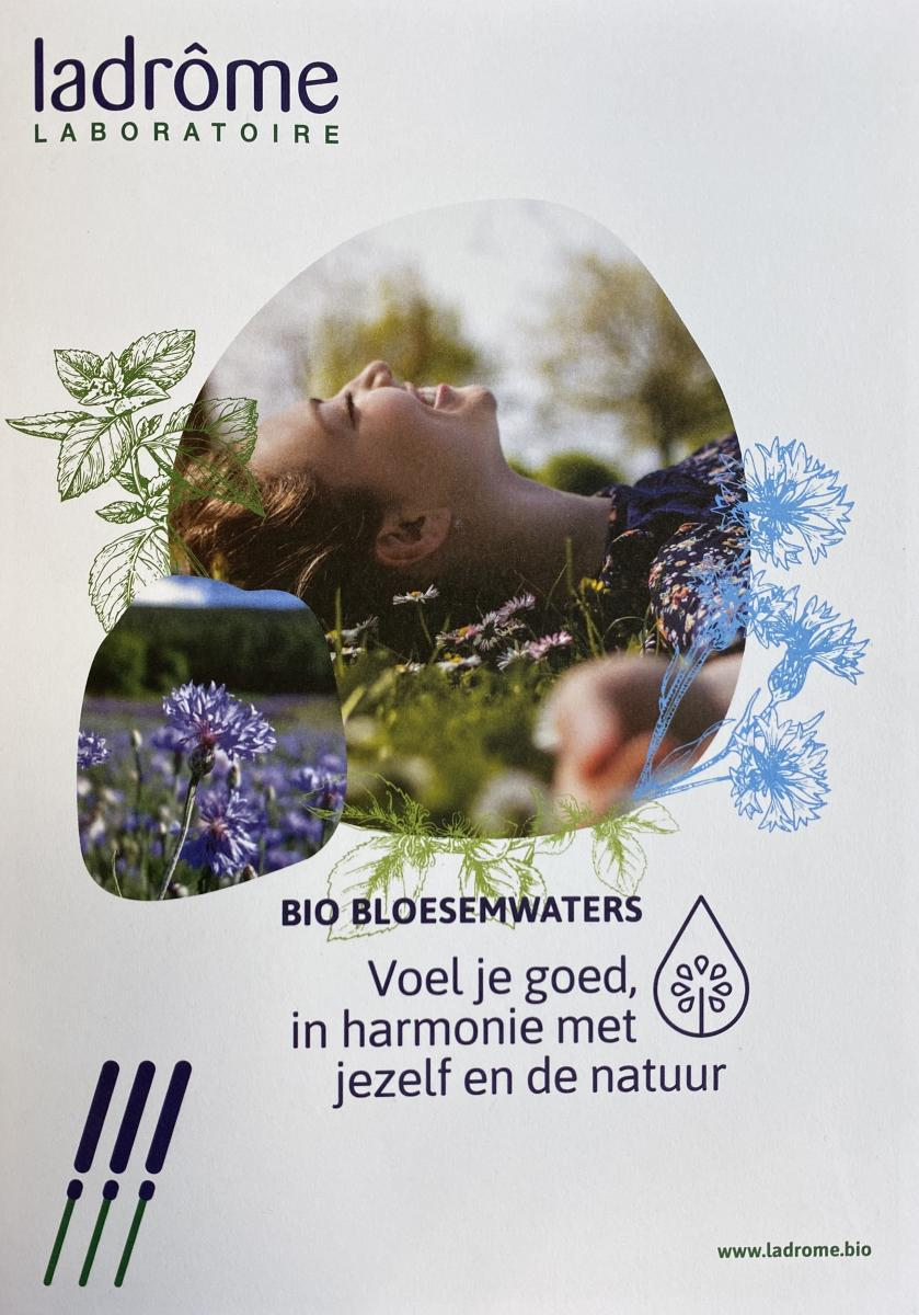 Folders bloesemwaters